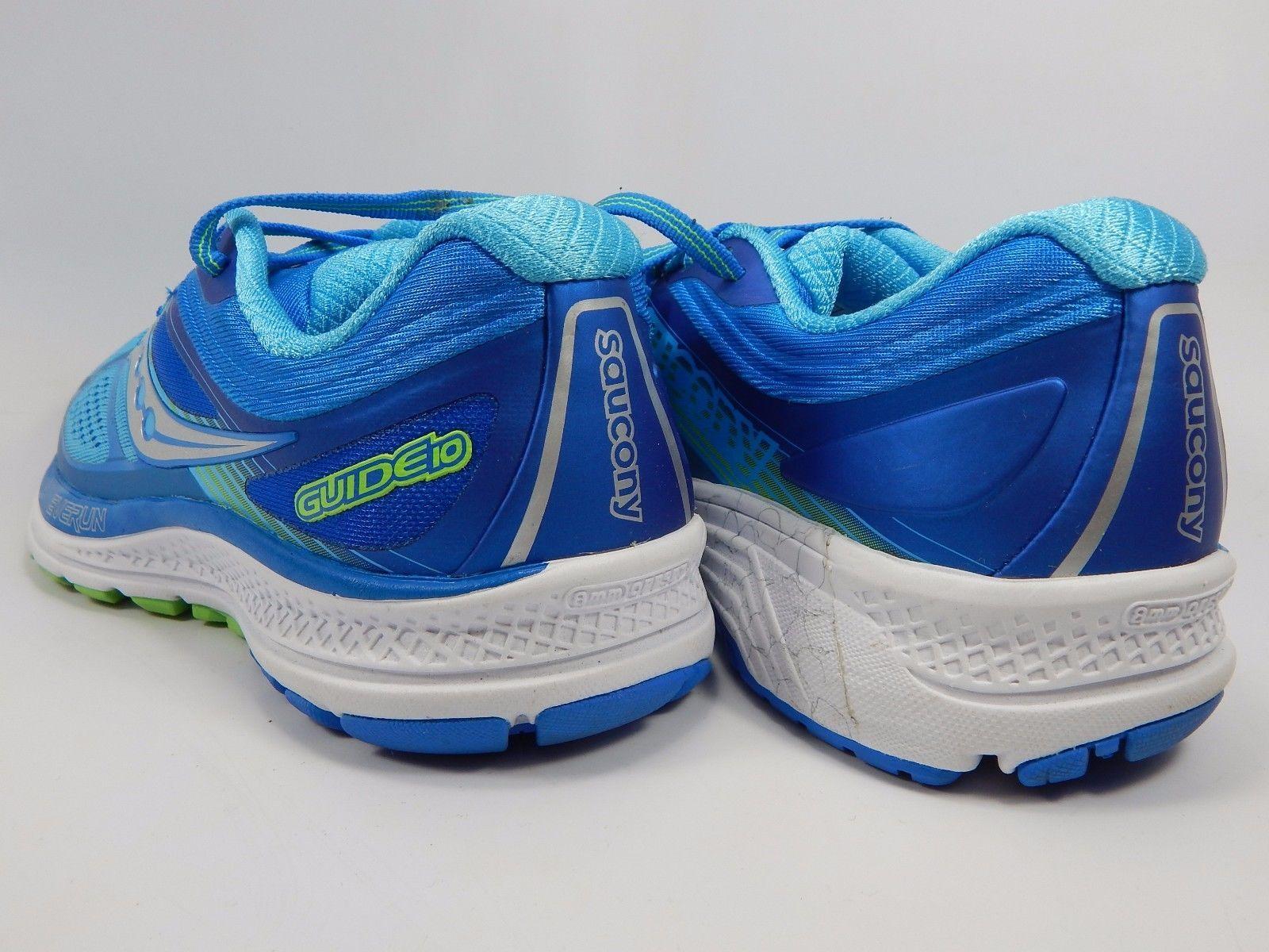 Saucony Guide 10 Women's Running Shoes Size US 7.5 M (B) EU 38.5 Blue S10350-1