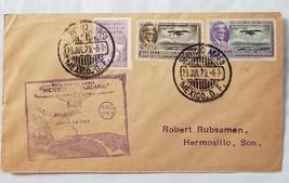 First Day Issue Inaugural Flight Mexcio-Tijuana - Hermosillo Son. July 2... - $39.95