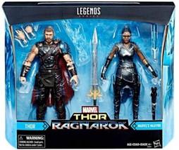 Hasbro Marvel Legends Thor Ragnarok Movie 2-Pack and Valkyrie  - $49.59