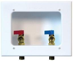 Washing Machine Outlet Box White-Powder Coated Faceplate Lip Guard - $116.42