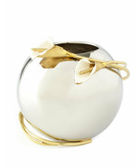 Calla Lily by Michael Aram Stainless Steel and Brass Rose Bowl Vase - New - $165.00