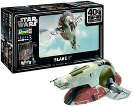 Revell of Germany 05678 1:88 Star Wars Slave I-40th Anniversary Plastic Model - $54.44