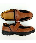$139 Dr Comfort Douglas Casual Shoes Sz 8 W Brown Leather - $34.20