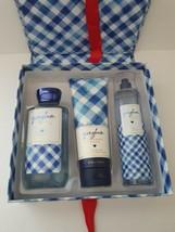 New Bath & Body Works Gingham Gift Easel-style Box Set Mist, Shower Gel,... - $37.39