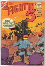 The Fightin' 5 Comic Book #34, Charlton Comics 1965 VERY GOOD+ - $7.38