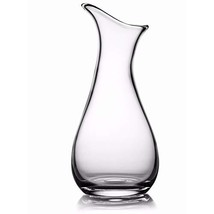 The Moderne Glass Art Vase 12in clear by Nambè - $104.83