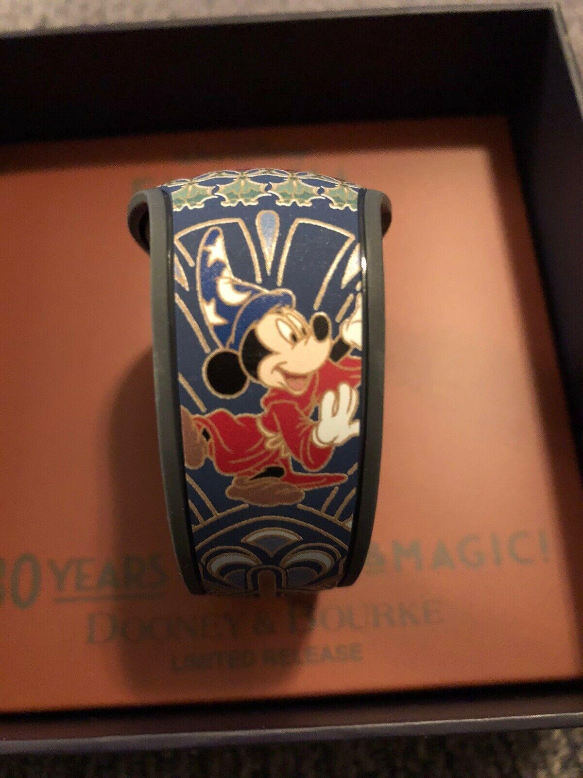Disney Fantasia 80 Years Sorcerer Mickey Magic Band Dooney & Bourke LR In Hand - $72.22