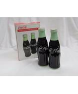 """Coca-Cola Ceramic Salt & Pepper Shakers   5 1/2 """"- NIB - $18.56"""