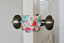 5 PACK Naptime & Roses Door Silencer, Door Jammer, Nursery Door Silencer,  - $38.95