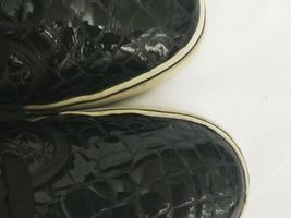 Vans Black Croc Pattern Chukka Boot LX Men 8 Women 9.5 Original Box IOB Shoe image 7