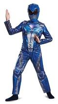 Disguise Blue Power Ranger Movie Classic Child Boys Halloween Costume 18975 - £23.90 GBP