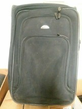 Samsonite Luggage Case Rolling Suitcase Black Nylon - $49.49