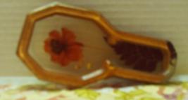 Vintage Pressed Flower Lucite Spoon Rest // Retro Kitchen // Home Decor - $10.00
