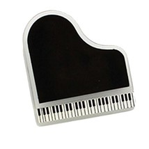 Set of 2 Multi-Function Clip Bill Fold Piano Music&Book Clips Black - $21.34