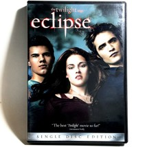 The Twilight Saga: Eclipse (DVD, 2010, Widescreen) Like New !  Kristen S... - $3.98