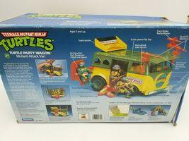 Teenage Mutant Ninja Turtles 1989 Party Wagon Mutant Attack Van In Damaged Box image 4