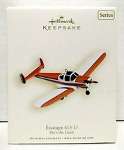 2008 Hallmark Keepsake Ercoupe 415-D Christmas Ornament QX2851 - $40.00
