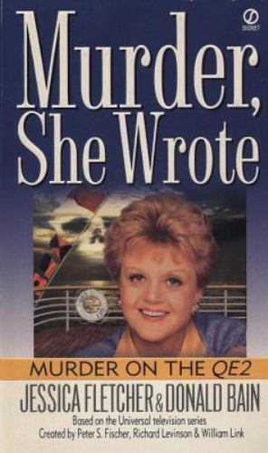 Primary image for Murder She Wrote: Murder on the QE2 8 by Donald Bain and Jessica Fletcher (1997,