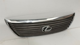 04-06 Lexus LS430 Upper Bumper Radiator Grill Grille W/Emblem Assembly image 2