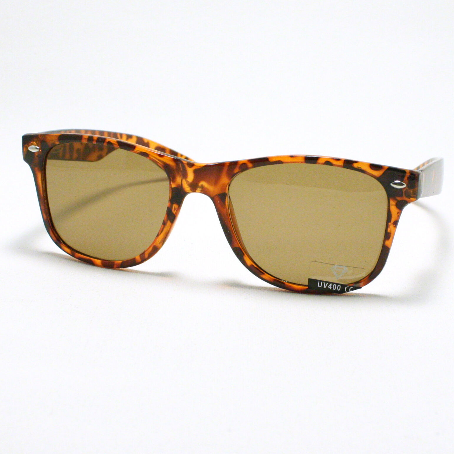 80's Classic Vintage OLD SCHOOL Sunglasses TURTLE SHELL