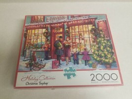 Buffalo Games - Holiday Collection Christmas Toyshop - 2000 Piece Jigsaw Puzzle - $21.99