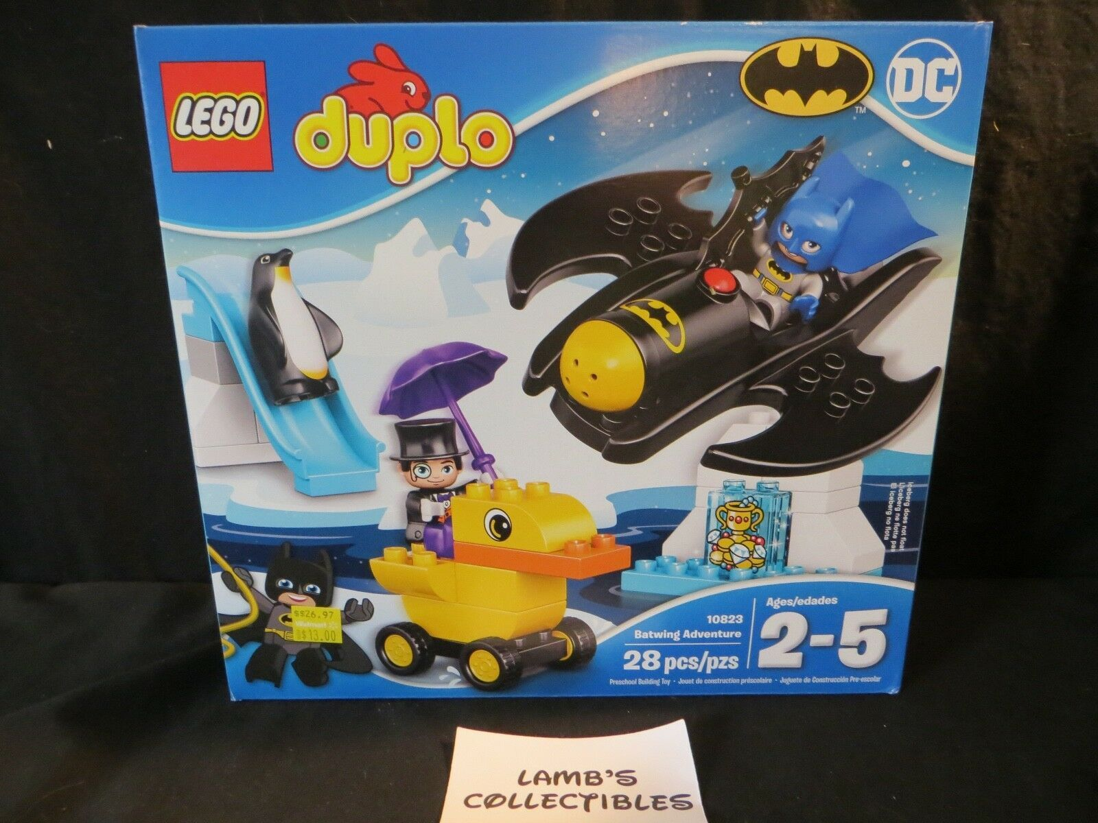 Primary image for Lego Duplo Batwing Adventure sealed 28 pieces set 10823 building blocks bricks