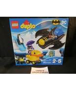 Lego Duplo Batwing Adventure sealed 28 pieces set 10823 building blocks ... - $54.70