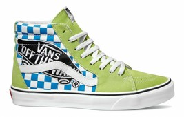 VANS SK8-HI SKATE MEN SIZE 8.5 / WOMEN SIZE 10 SHOES GREEN VN0A38GEUJY NEW - £60.96 GBP