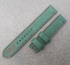 18mm/18mm Genuine Cowhide Leather Vintage Watch Straps Band - Green #999 - $21.78