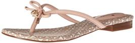 kate spade new york Women's Mistic Flip Flop, Pale Pink, 6.5 M US - $105.84
