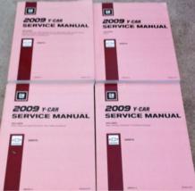 2009 Chevrolet Chevy Corvette Service Shop Workshop Repair Manual Set FA... - $306.85