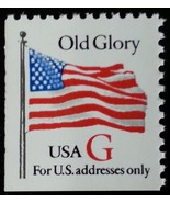 "1994 32c ""G"" Old Glory, Red G Scott 2885 Mint F/VF NH - $1.08"