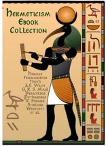 Hermetic, Occult Book Set Lot on USB Emerald Tablets of Thoth Atlantean,... - $49.95