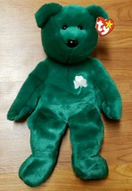 Ty B EAN Ie Buddy Erin Irish Bear, St Patrick's Day, New, Excellent, 1998 - $7.95