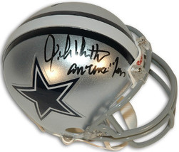 John Dutton signed Dallas Cowboys Mini Helmet America's Team - $47.95