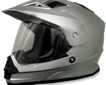 AFX 0110-2456 FX-39 Dual Sport Helmet Solid Colors Md Silver