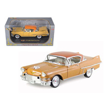 1957 Cadillac Series 62 Coupe De Ville Yellow 1/32 Diecast Car Model by ... - $31.21