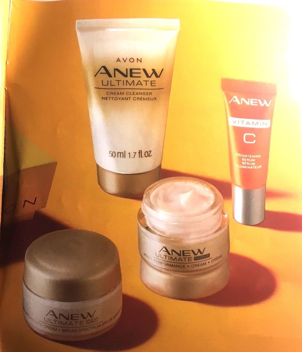 Avon NEW ANEW  GOLDEN GLOW KIT  New in Box Never Opened