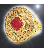 HAUNTED ANTIQUE RING QUEENS MIGHTY FORTUNE,MAGNIFIED WEALTH HIHG MAGICK NO DEALS - $153.89