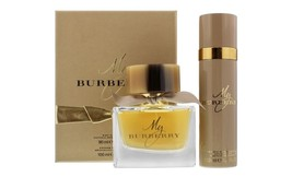 My Burberry 2-Pc Gift Set for Women: 3.0 EDP Spray + 3.3 oz Deo Spray - $62.99