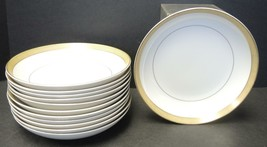 Set of Twelve Mikasa Soup Bowls - Bristol #8303 Pattern - $98.79