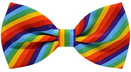 Mens Handmade Stylish Patterned Pre-Tied Bow Ties M126 17R - $19.38
