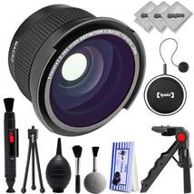 Opteka 0.35x Super Wide Angle Panoramic Macro Fisheye Lens For Nikon DSL... - $33.81