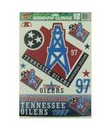 NFL Tennessee Houston Oilers Window Clings - $12.98