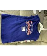 NFL New York Giants Girls' T-Shirt 4T - $10.00