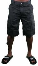 LRG Cc Classique Noir / Camouflage Cargo Shortsjeans Taille: 28