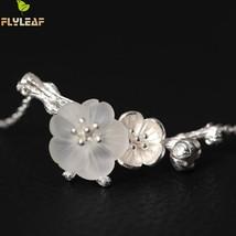 Flyleaf Original Hand Astilboides Tabularis Flower Necklaces & Pendants ... - $29.34