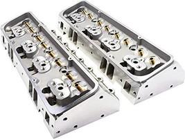 A-Team Performance Straight Plug Aluminum Cylinder Heads 64cc Chamber 205cc Inta