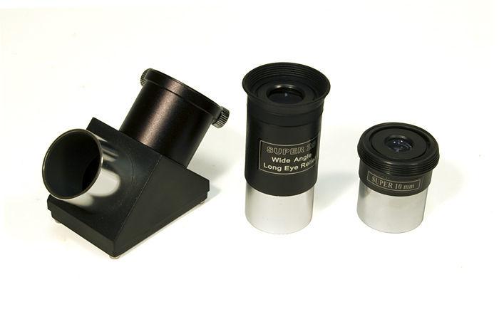 Schieber Telescopes Compact MAK 90 - Maksutov-Cassegrain Telescope (90mm) Bundle
