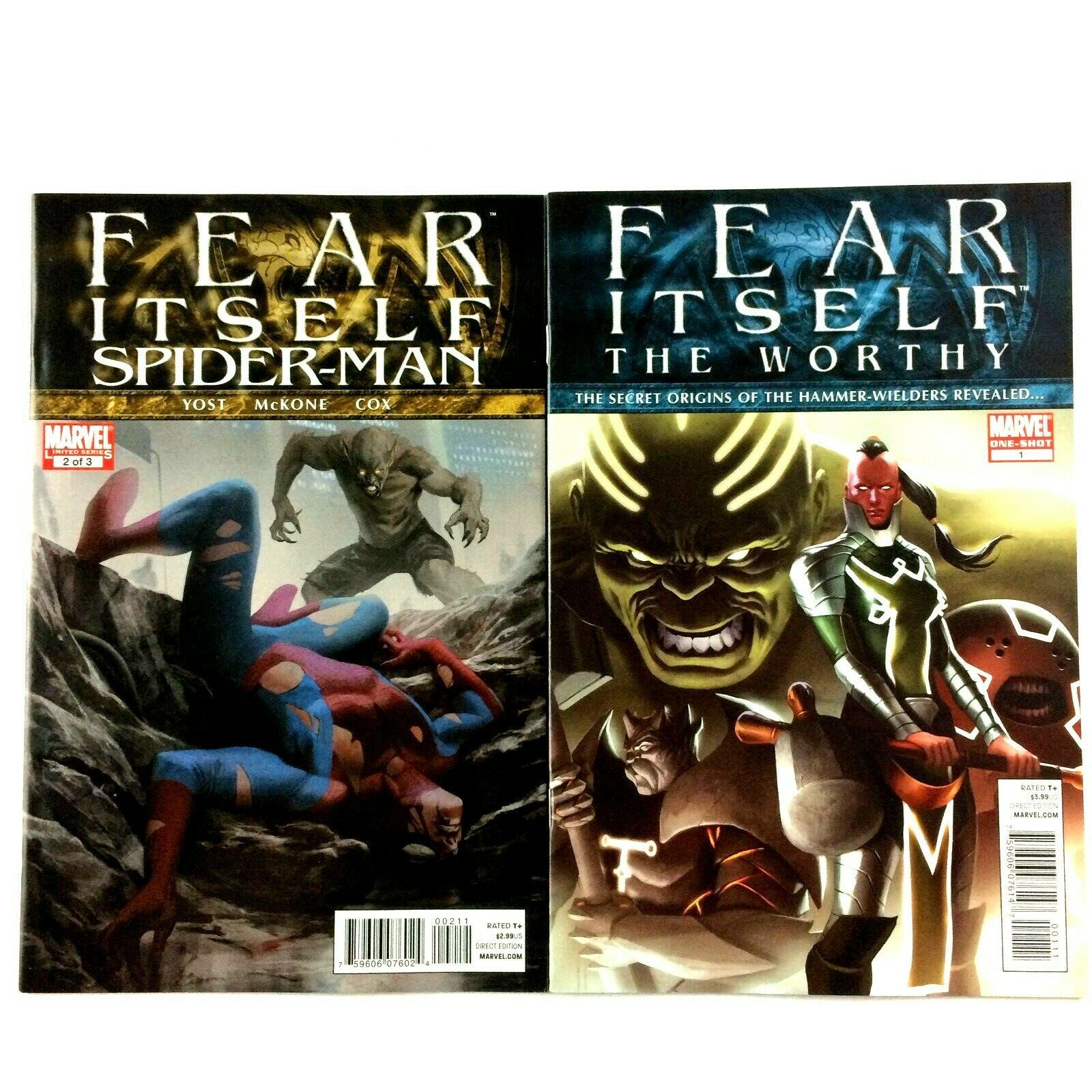 Marvel Fear Itself Comic Book Lot 19 Issues 2011 VF NM Avengers Thor Iron Man